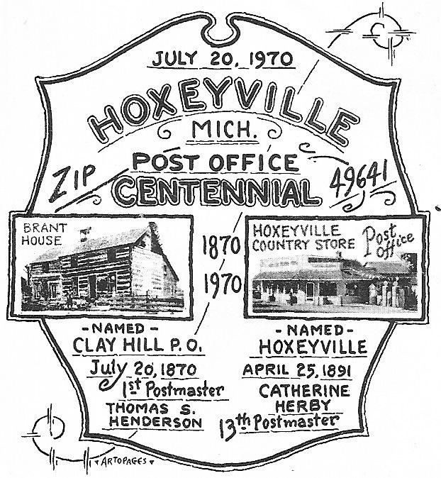Hoxeyville Centennial Logo