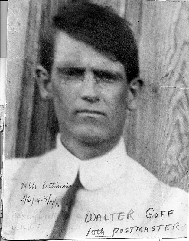 Hoxeyville Postmaster