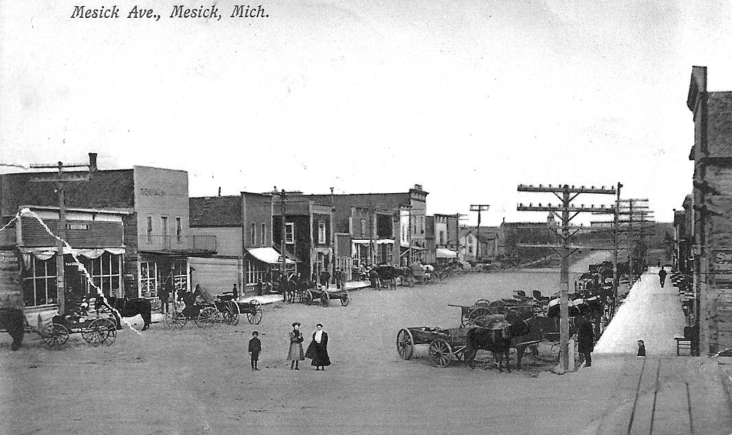Mesick Street Scene