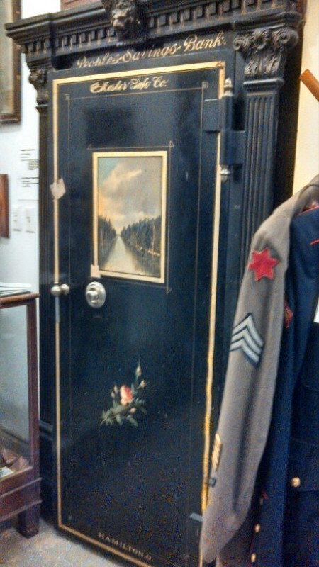 People's Savings Bank Vault Door