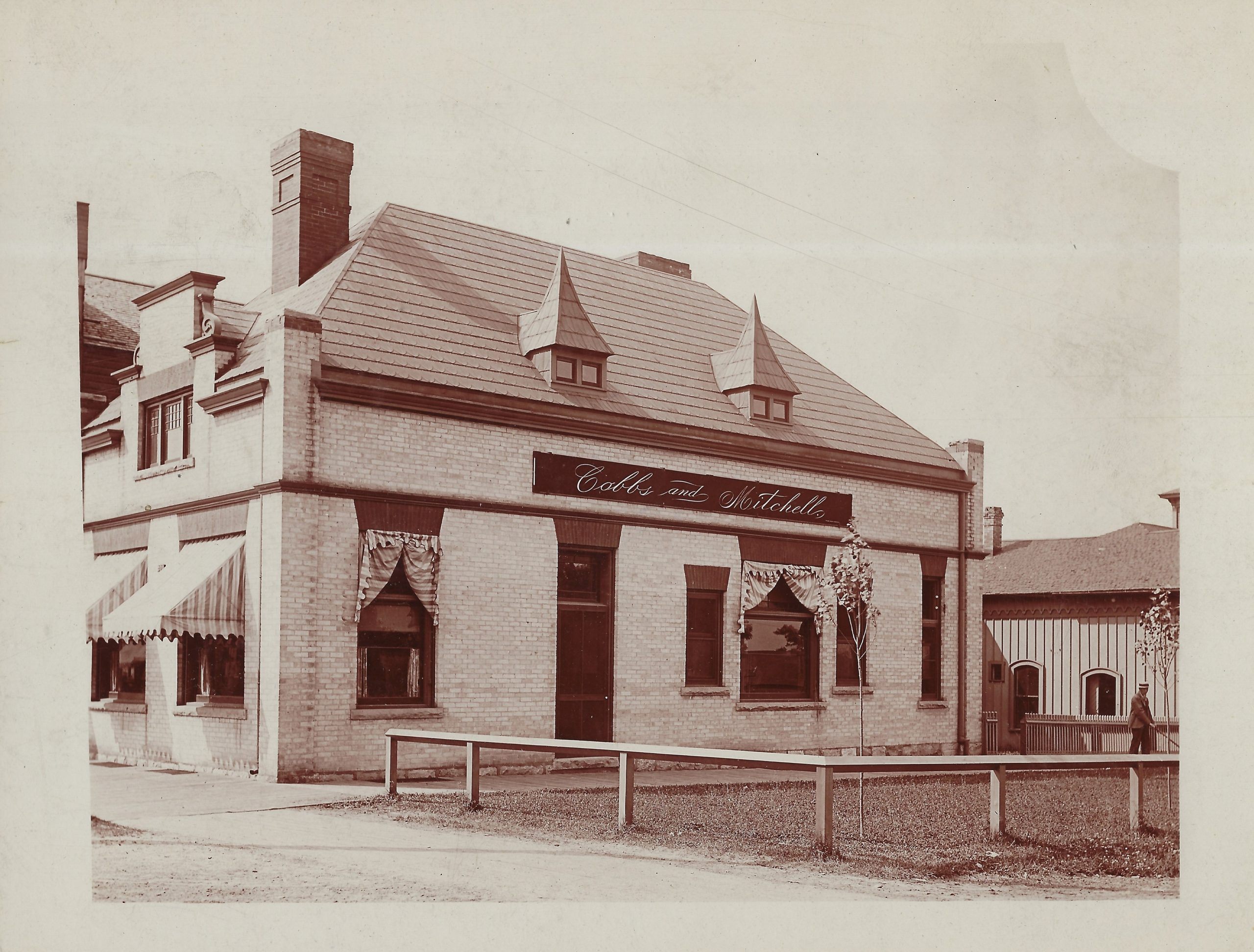 Cadillac – Business – Cobbs & Mitchell Lumber Office, Southwest corner of West Cass and South Mitchell Street 1 (5)