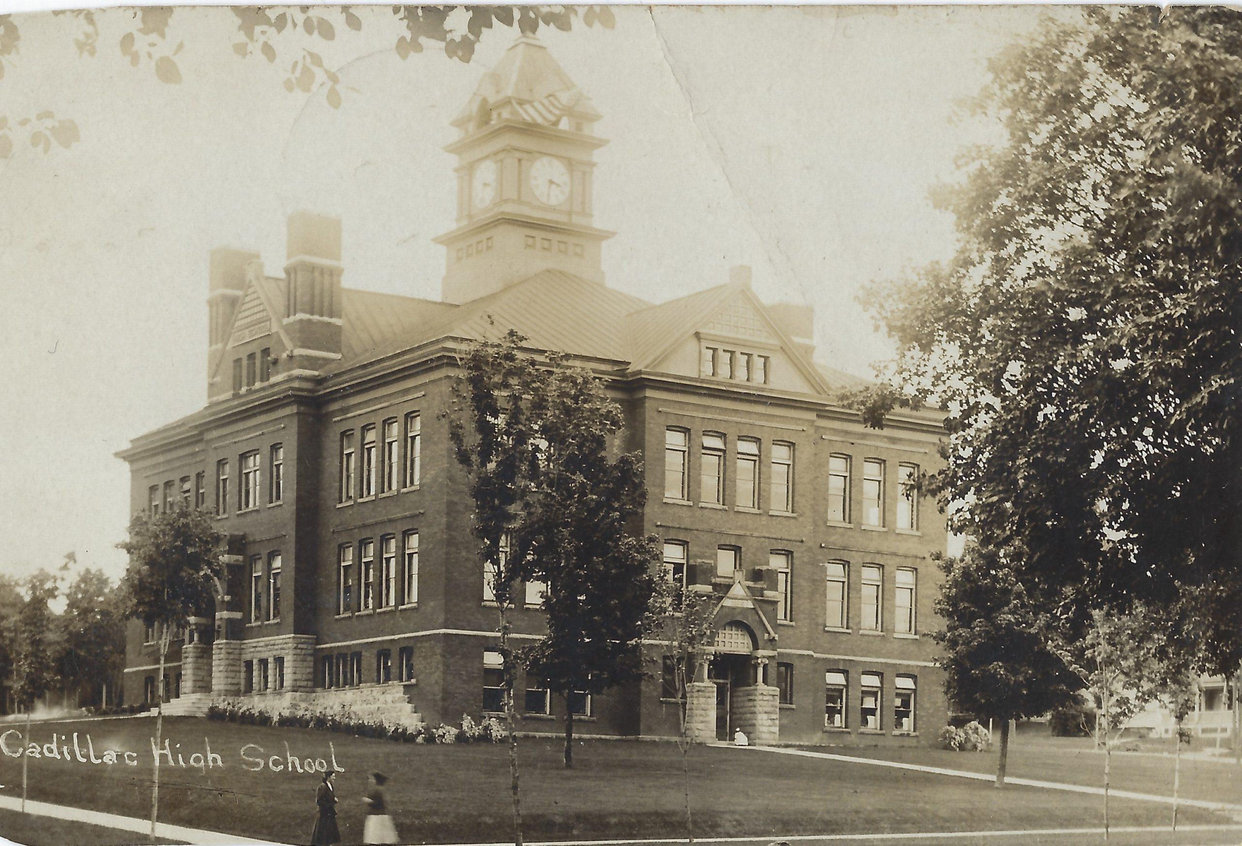 Cadillac – School – Old Cadillac High School – 115 S. Simmons Street (1890 – 1911) (23)