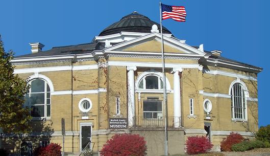 Wexford County Historical Society – Building – Old Public Library, Historical Society, 127 Beech Street (95)