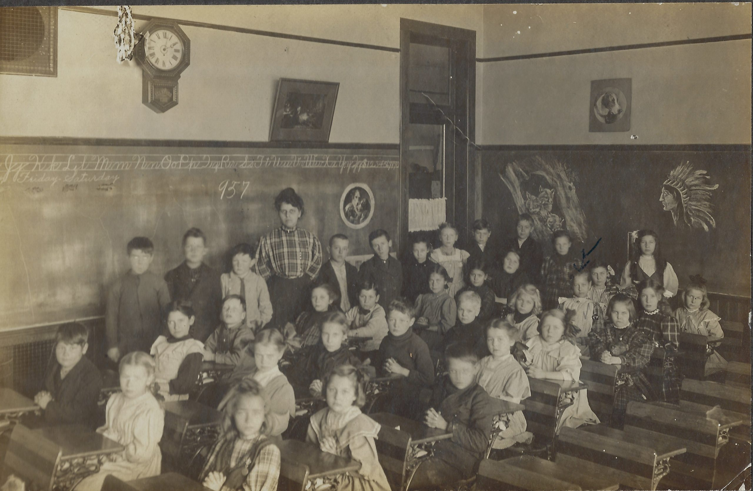 Cadillac – School – ruth andersons first grade